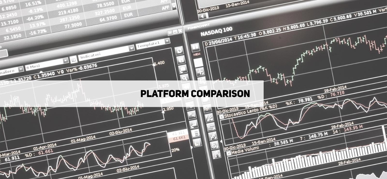 Forex platform comparison